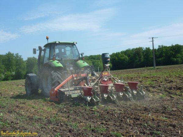 Semis de maïs 2011 ( 20 avril 2011 )
