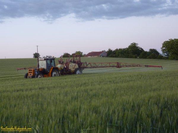 Traitement des blés 2011 ( 14 mai 2011 )