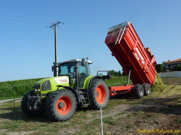 Ensilage de maïs 2011 ( 20 aout 2011 )
