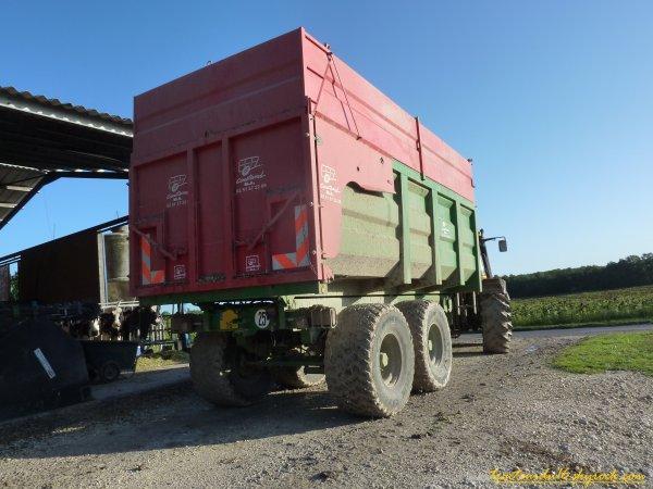 Ensilage de maïs 2011 ( 25 et 26 aout 2011 )