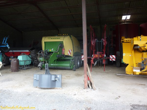 Chez un agriculteur ( 17 septembre 2011 )