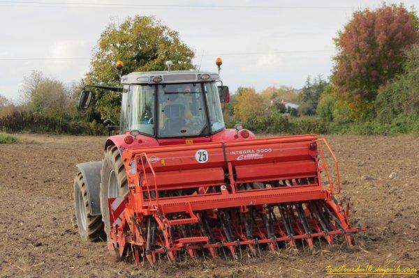 Semis de blé 2011 ( 29 octobre 2011 )
