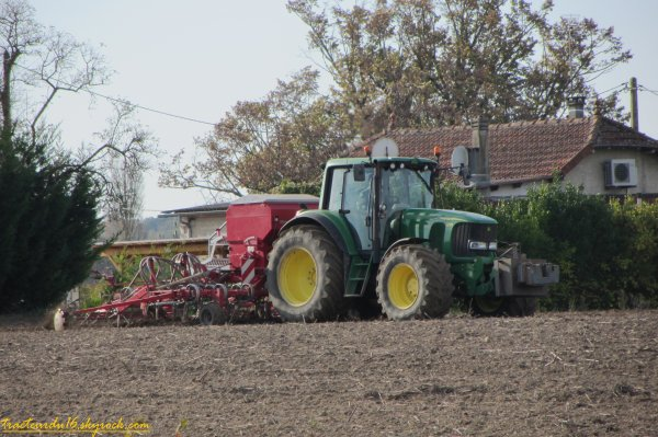 Semis de blé 2011 ( 12 novembre 2011 )