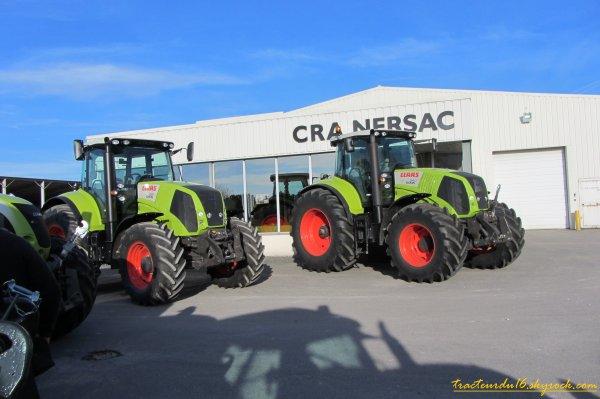 Journée Porte Ouverte Claas CRA Nersac ( 19 novembre 2011 )