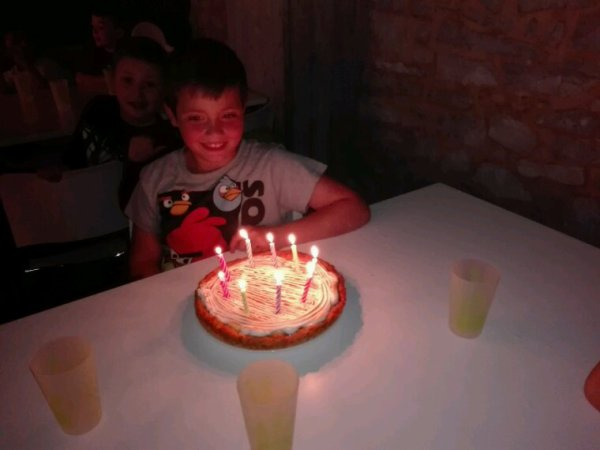 Au château on fête l'anniversaire de Fiorenzo.