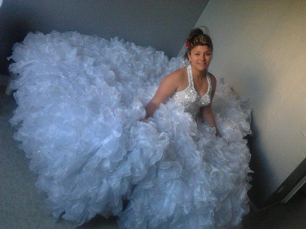 moi en robe de mariée mdr