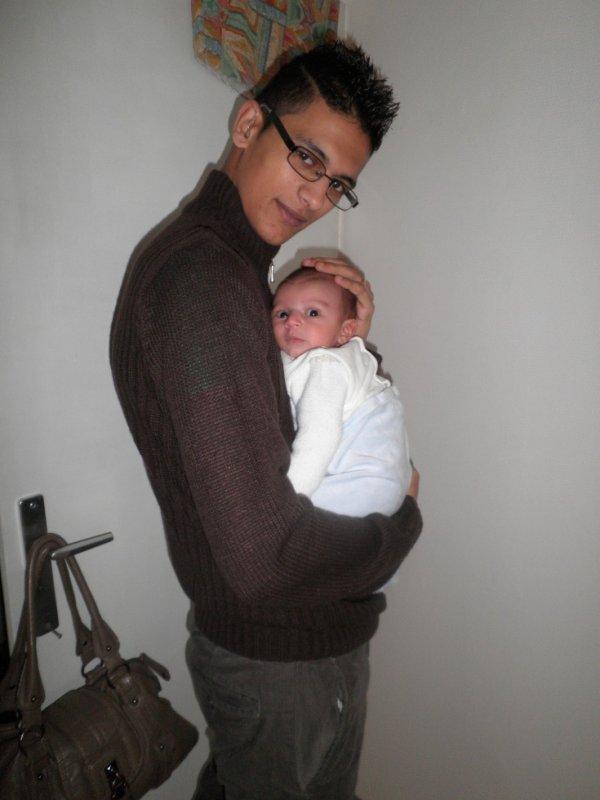 mon fils et mon mari