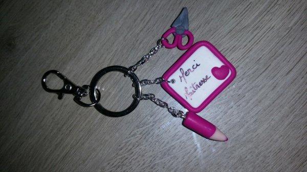 Portes clés couleur au choix 4¤