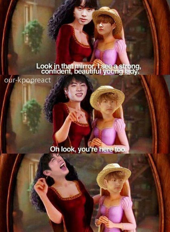 Jin et sa modestie...