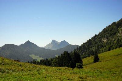 Les vacances à la montagne