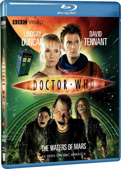 doctor who spécial halloween 2009 la conquète de mars dvd plus blu ray