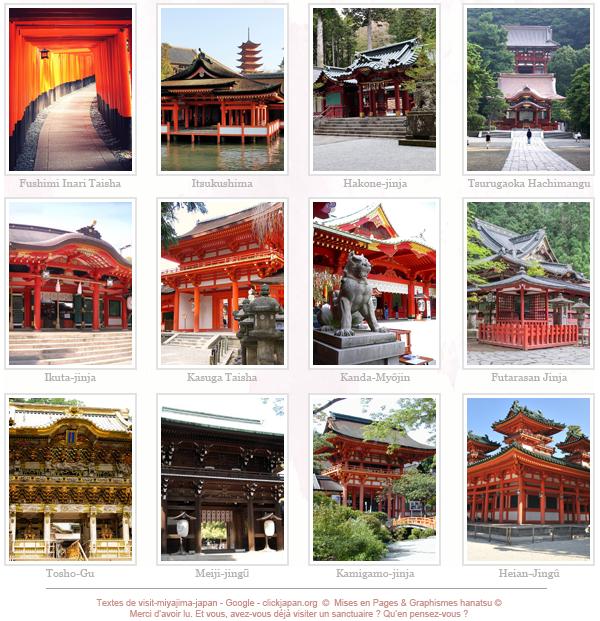 Sanctuaires Japonais