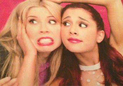 Sam and Cat (Jennette McCurdy and Ariana Grande)