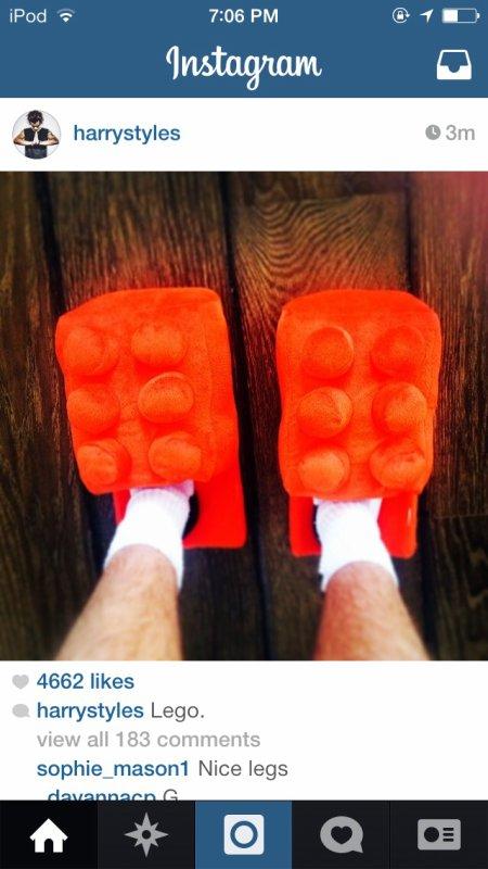 Ce que Harry viens de poster sur Instagram...