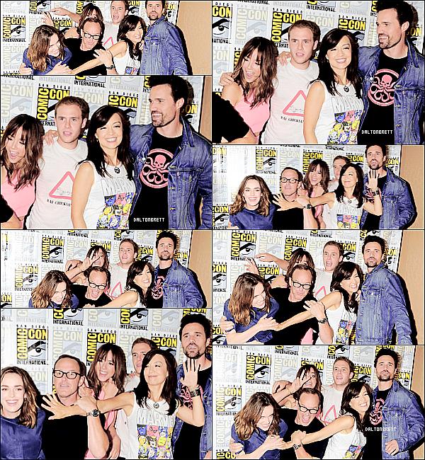 JUL, 26 : (flashback) SDCC 2014 avec le cast d'Agents Of S.H.I.E.L.D