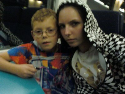 ma fieule et mon fils