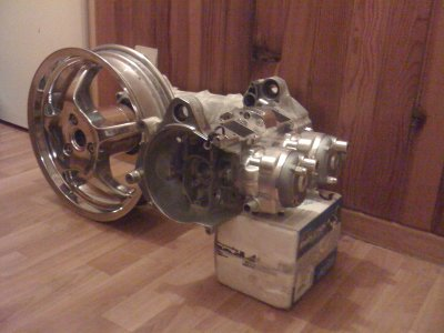 bloc bi cylindre de wilback big evo 94cc tuned team nitro design