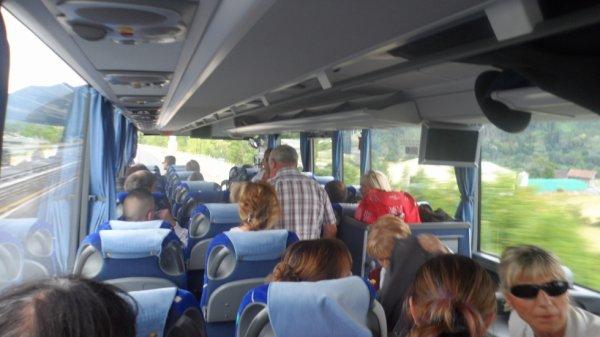 Dans le bus direction Scionzier