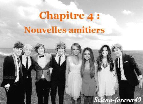 Chapitre 4 : Nouvelles amitiers