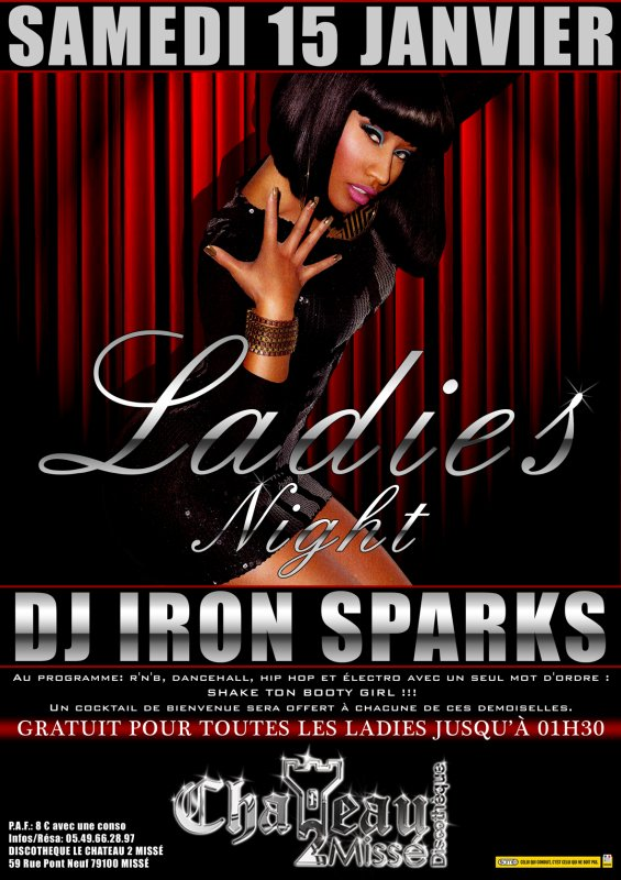 LADIES NIGHT @ CHATEAU 2 MISSÉ