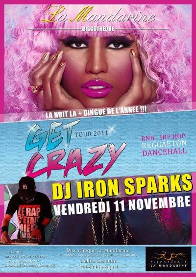 GET CRAZY TOUR @ LA MANDARINE