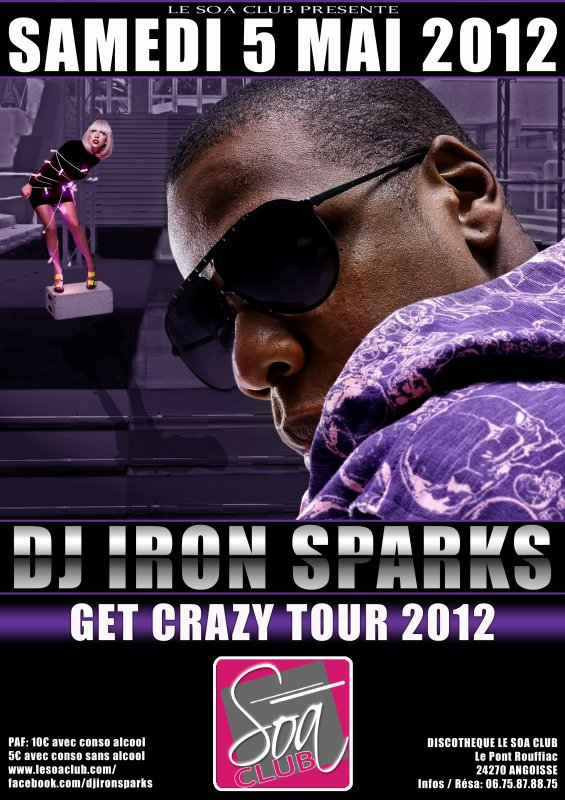 GET CRAZY TOUR @ SOA CLUB