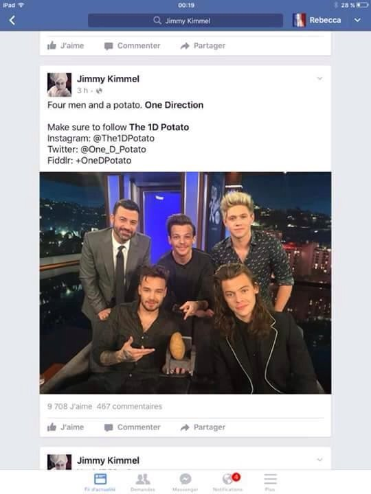 Patata One Direction