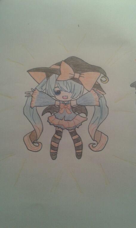 Mes dessins pour le concours de Baka-Nyaan !