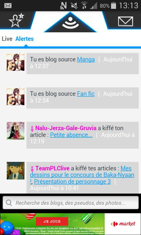 Je suis blog source ?!