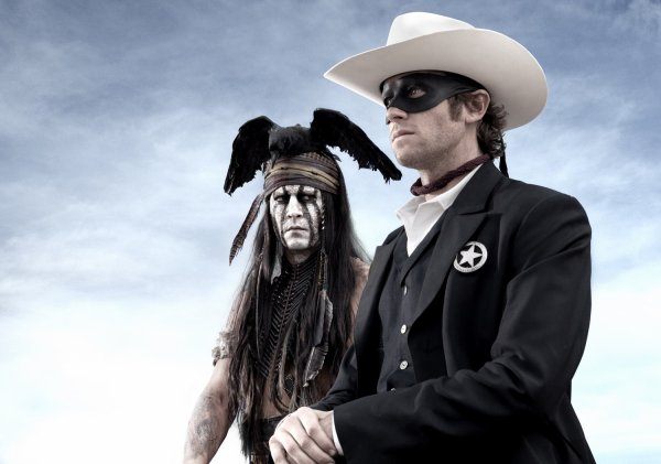 The Lone Ranger: Tonto by Johnny Depp