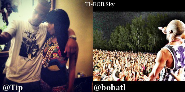 "T.I. - ""I Don't Like"" Remix feat Chief Keef + B.o.B ""Ray Bands"" Remix Contest + TwitPics + Teen B.o.B & T.I."