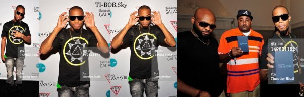 T.I. Trouble Man repoussé + T.I. dans la mixtape de DJ MLK + Events + B.o.B dans l'album de Slaughterhouse + Instagram