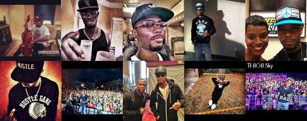 "T.I. Takeover D.C, In Studio with Trinidad James, B.o.B ""Dynamite"" Preview"