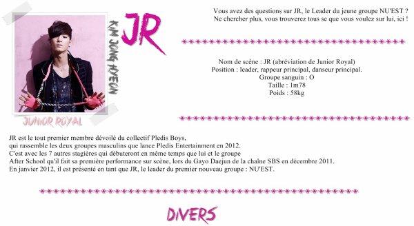 JR : Biographie ~