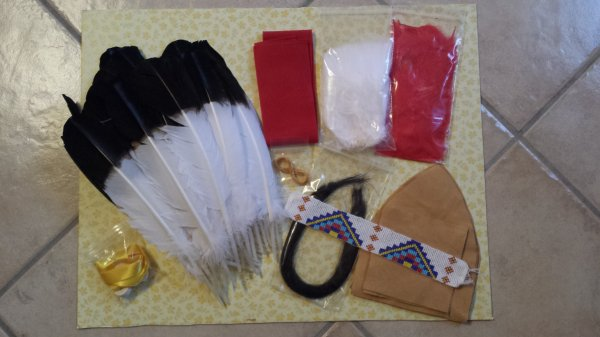 Commande Crazy crow trading post