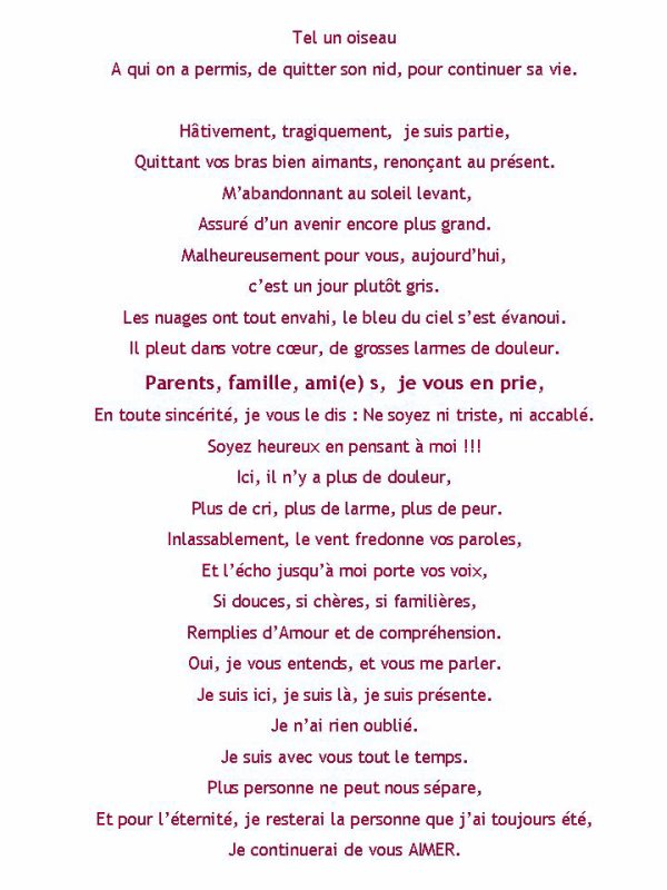 Poème de Manu 25 décembre 2014