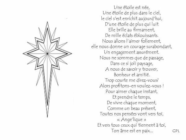 Une étoile est née.................