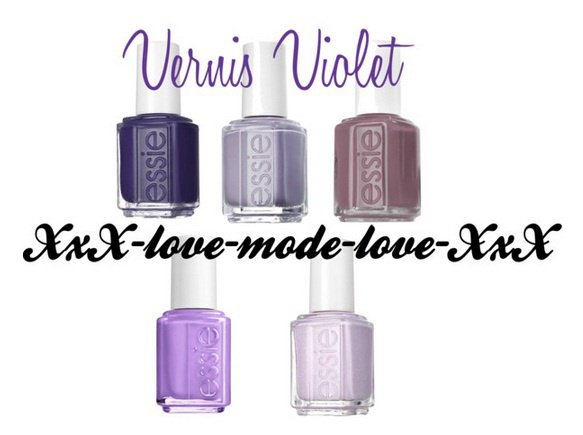 Vernis Violet