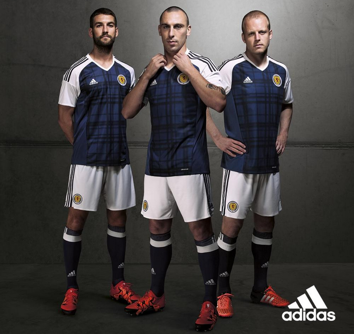 en menta eficacia  Adidas nuevas camisetas Escocia 2016-2017 - camisetas de futbol ...