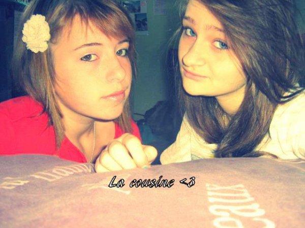 Moi & ma cousine ;)♥