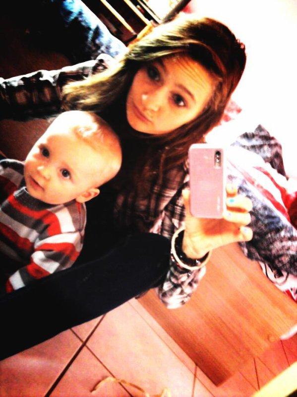 Mon petit frère et moi !♥