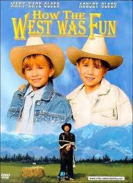Deux jumelles dans L'ouest.