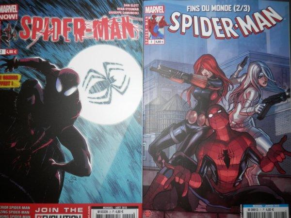 Mes comics (mensuel SPIDERMAN)