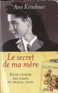 Le secret de ma mère de Kirschner Ann