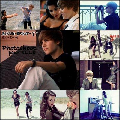 Justin bieber & Kim kardashian