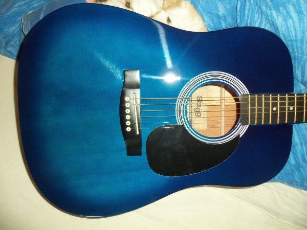Ma nouvelle guitare