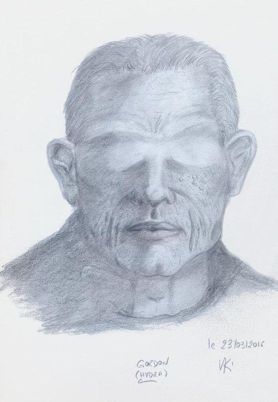 Le visage sans yeux
