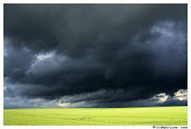 En attendant l'orage....