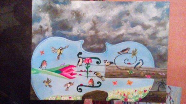 Ma dernière toile
