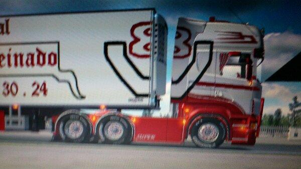Scania des tps peinado